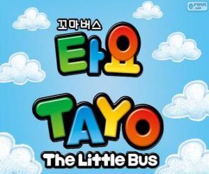 puzzel Logo van TAYO de kleine Bus