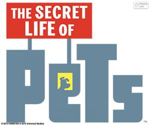 puzzel Logo van The Secret Life of Pets