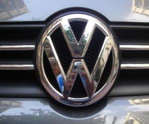 puzzel Logo Volkswagen, Duits automerk