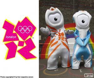 puzzel Londen 2012 Olympische spelen