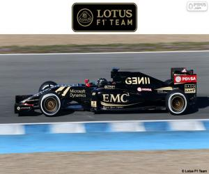 puzzel Lotus F1 Team 2015