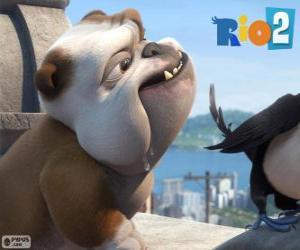 puzzel Luiz in de film Rio 2