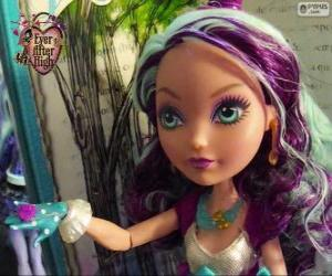 puzzel Madeline Hatter, student van Ever After High