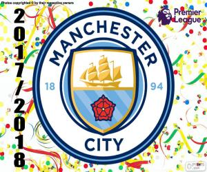 puzzel Manchester City, Premier League 2017-18