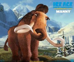 puzzel Manfred, Manny, de mammoet