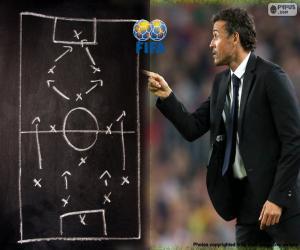 puzzel Mannen wereld Coach FIFA 2015