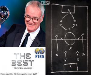 puzzel Mannen wereld Coach FIFA 2016
