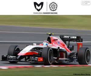 puzzel Manor Marussia 2015