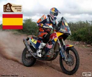 puzzel Marc Coma, Dakar 2015