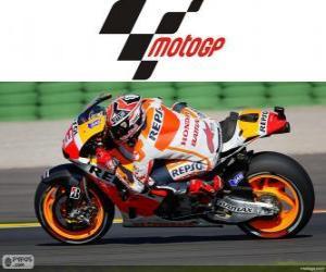 puzzel Marc Márquez, 2013 wereldkampioen van MotoGP