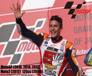 puzzel Marc Márquez, MotoGP 2016