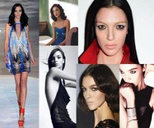 puzzel Mariacarla Boscono is een Italiaans model