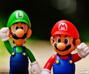puzzel Mario en Luigi