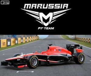 puzzel Marussia MR02 - 2013 -