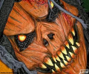 puzzel Masker van de duivel