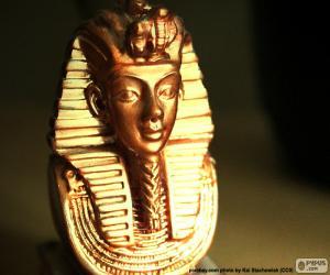 puzzel Masker van farao Toetanchamon