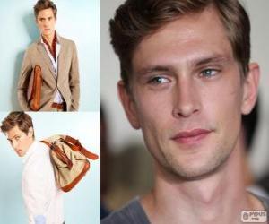 puzzel Mathias Lauridsen is een Deense model