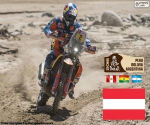 puzzel Matthias Moro Freoni, Dakar 2018