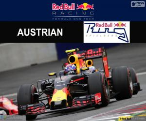 puzzel Max Verstappen Grand Prix van Oostenrijk 2016