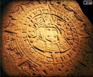 puzzel Maya kalender