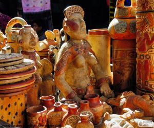 puzzel Maya keramiek