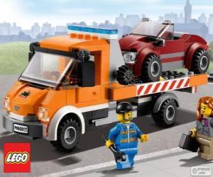puzzel Mechanische hulp van Lego City