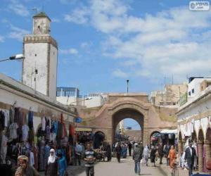 puzzel Medina van Essaouira, Marokko