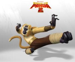 puzzel Meester Monkie is acrobatisch, speels, grappig, onvoorspelbaar, snel en energiek.