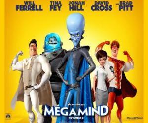 puzzel Megamind Superschurk hoofdpersonen