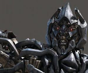 puzzel Megatron is hij de leider van de Decepticons