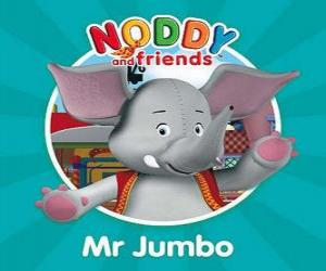puzzel Meneer Jumbo de olifant