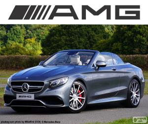 puzzel Mercedes-AMG S 63 Cabriolet