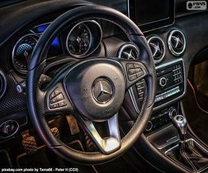 puzzel Mercedes-Benz stuurwiel