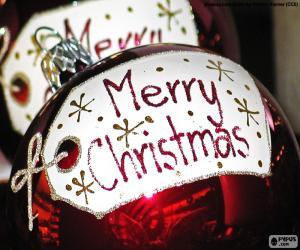puzzel Merry Christmas