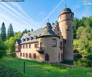 puzzel Mespelbrunn Castle, Duitsland