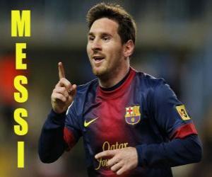 puzzel Messi