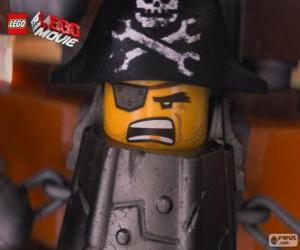 puzzel Metaalbaard, een piraat die wil wreken op Lord Business