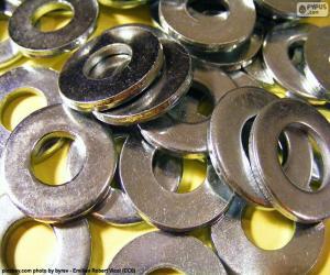 puzzel Metalen sluitringen