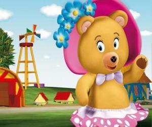 puzzel Mevrouw Tubby Bear de buur van Noddy