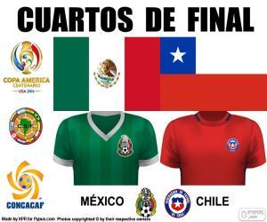 puzzel MEX - CHI, Copa America 2016