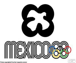 puzzel Mexico 1968 Olympische spelen
