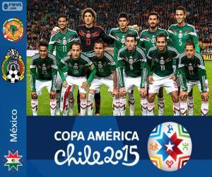 puzzel Mexico Copa America 2015