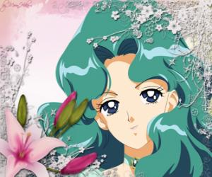 puzzel Michiru Kaioh wordt Sailor Neptune