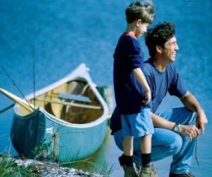 puzzel Mijn vader en ik