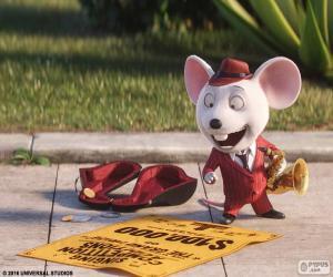 puzzel Mike van de muis