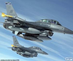puzzel Militaire vliegtuigen