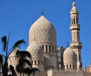 puzzel Minaretten, de torens van de moskee