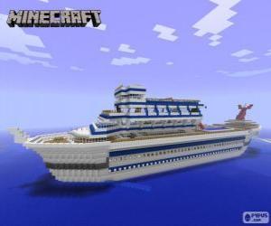 puzzel Minecraft cruiseschip