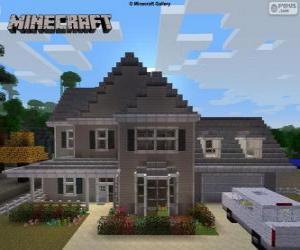 puzzel Minecraft huis