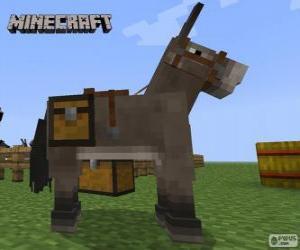 puzzel Minecraft paard